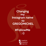 New Instagram name by FallenAngelGM