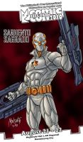 MetroCon poster: Sgt Sagrado by gammaknight