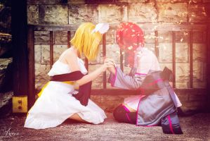 Rin and Teto from ~Synchronicity~ by UtopiaSeeker