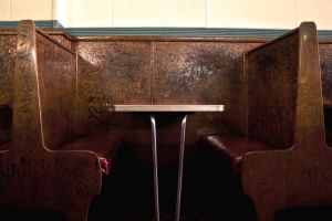 Old Booth by Brieana