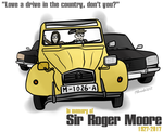 Roger Moore Tribute by FreyFox