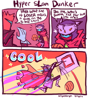 Hyper sLam Dunker by NightMargin