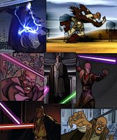 Collage of Mace Windu by LadyIlona1984