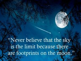 The sky isn't the limit... by Lifes-what-u-make-it