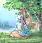 C: Qui in the woods by Midna01