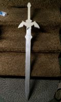 Master Sword with hilt by ElizzaBeast