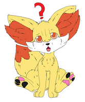 Fennekin by Midnightflaze