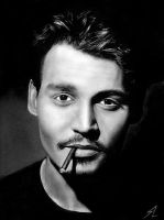 Johnny depp by Electricgod