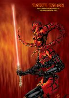 Star Wars Sith - Darth Talon by effix35