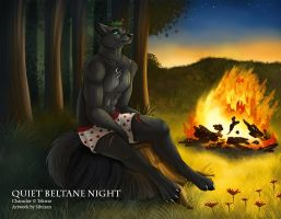 April - Quiet Beltane Night by Silvixen