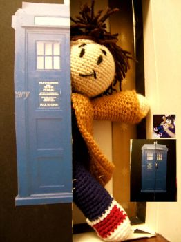 Tenth Doctor Plushie by lovelyverdigris