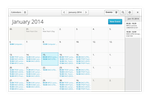 Gnome App Sketches: Calendar Month View by spiceofdesign