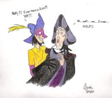 Crazy Clopin...sigh.... by snapeslover