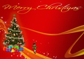 Merry Christmas wallpaper by simoner
