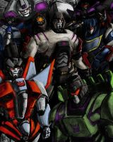 Decepticons by BenjaminGalley