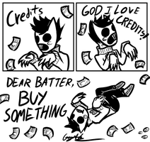 Zacharie loves credits by GingaAkam