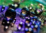 Rainbow Bokeh Bubbles by Silver-Dew-Drop