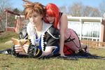 Sora and Kairi - nice day together by Jake-Peter-Pan