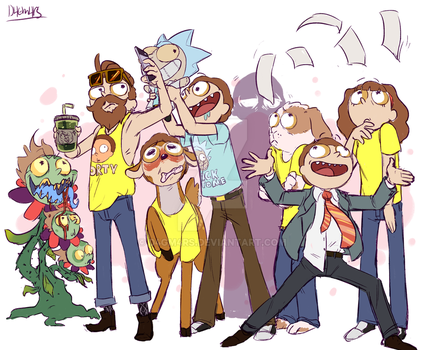 to much morty by dagmars-stuff
