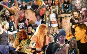 James Hetfield Collage by KaylahRokksOut337