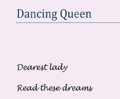 Dancing Queen by alika-n