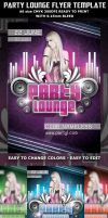 Party Lounge Flyer Template by Hotpindesigns
