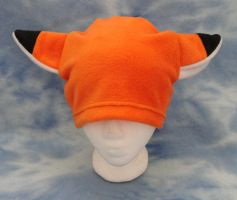 Orange Fox Hat Fleece Furry by HatcoreHats