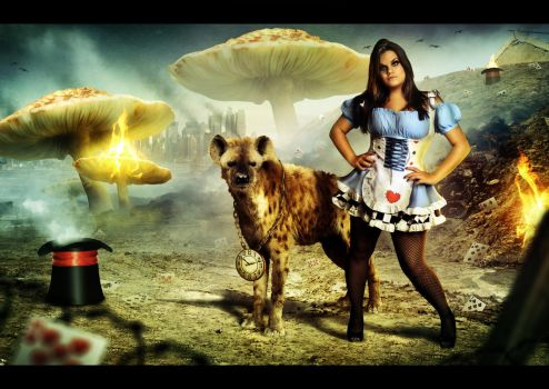 Alice in the Apocalipse Land by r-fl
