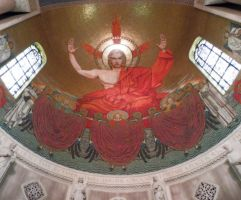 Basilica of the Immaculate Conception - Mosaic by Nayias01