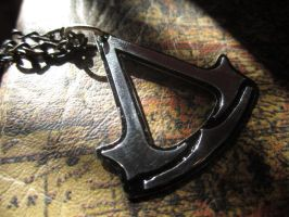 Assassins Creed Pendant - 2 by Silverthink