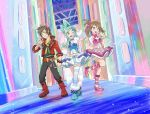 Pokemon ORAS Contest Live!~ Brendan, Lisia and May by YamatoTaichou