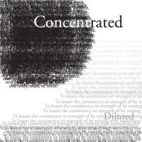 Concentrated-Deluted 1 by Ryglore