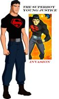 Superboy in Young Justice by nhrynchuk