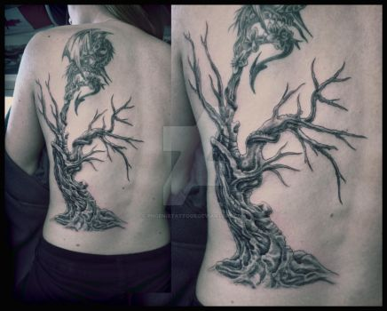 Tree Ext by phoenixtattoos