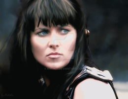 Xena -  Fight by Kot1ka
