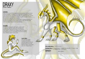 .:Draxy - Species Sheet v2-:. by kryptangel92