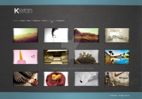 Webdesign - Photography site by Caronade
