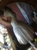 Making of a lolita dress by NeonRainbowGirl