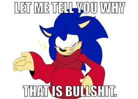 Sonic: Let me tell you why that is bullshit by AskCuteSally