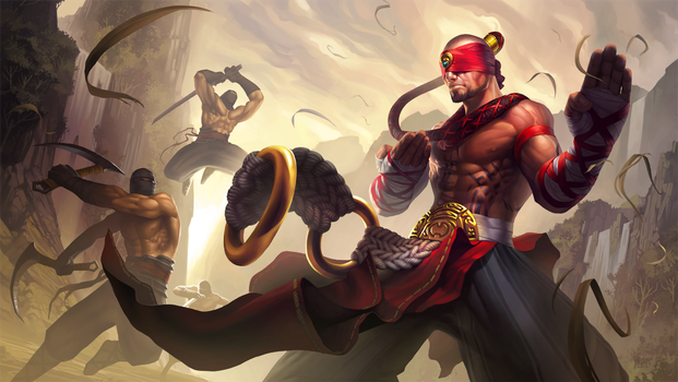 Lee Sin by YngvarAsplund