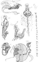 NonTraditional Mermaids by SoCallMeNothing