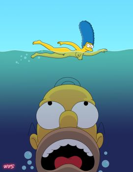 Simpsons-Jaws by WVS1777