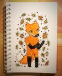 Jalo Santo Fox by RedCloudlet