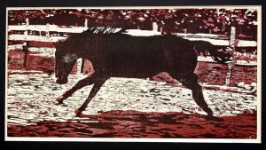 Woodcut print by BloodStoneFreedom