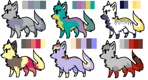 -OPEN- NAME YOUR PRICE CANINES by Tsulas-adopt