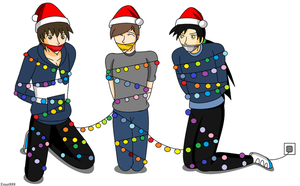 Christmas Guys by ernet888
