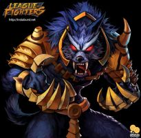 [League of Fighters] - Warwick by 2gold