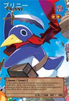Yugioh! Orica: Prinny Monster Card by animereviewguy