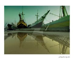 Harbour Story 14 - reflection by marrysa