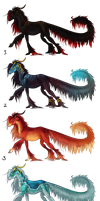 Free Adoptables  CLOSED by Amadoodles